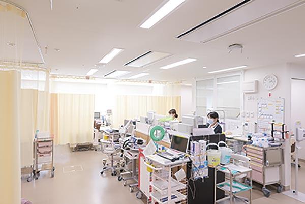 写真:第2救急病棟