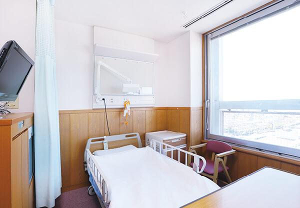 画像:一般病棟〈4人部屋〉