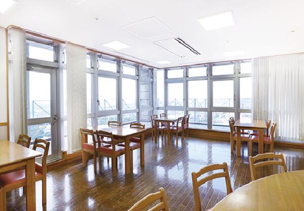 画像:病棟食堂